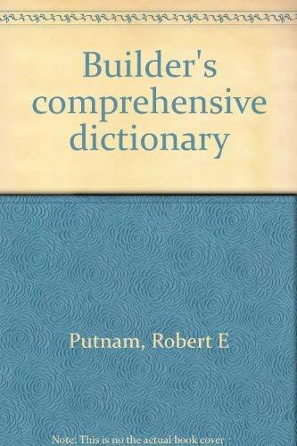 9780835905794: Builder's comprehensive dictionary