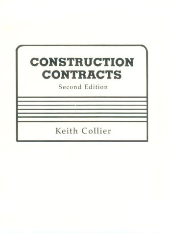 9780835910040: Construction Contracts (2nd Edition)