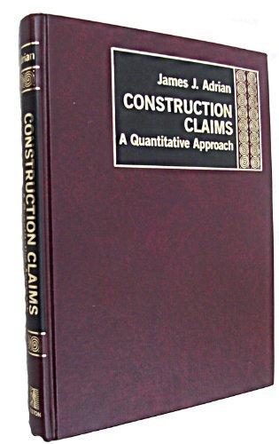 9780835910217: Construction Claims: A Quantitative Approach