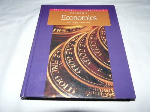 9780835910309: Fearon's economics (The Pacemaker curriculum)