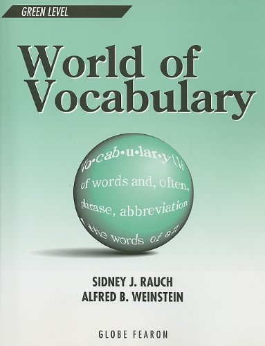 WORLD OF VOCABULARY GREEN LEVEL SE 1996C (Globe World of Vocabulary): GLOBE