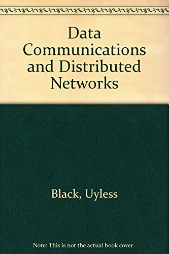 9780835913416: Data Communications and Distributed Networks