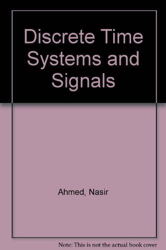 9780835913751: Discrete Time Systems and Signals