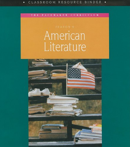 Fearons American Literature: The Pacemaker Curriculum, Classroom Resource Binder