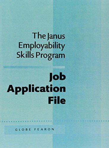 9780835914154: JANUS EMPLOY:JOB APPLI. FILE 5TH ED 95C (The Janus Employability Skills Program)