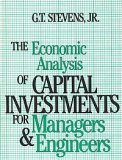 9780835915823: Economic Analysis of Capital Investments for Managers and Engineers