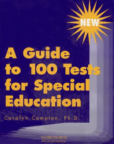 9780835916110: A GUIDE TO TESTS FOR SPECIAL EDUCATION (FEARON/PROF/OTHER)