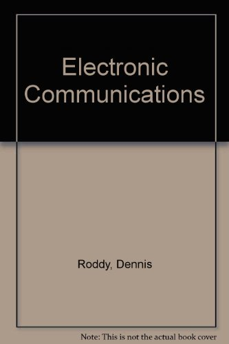9780835916318: Electronic Communications