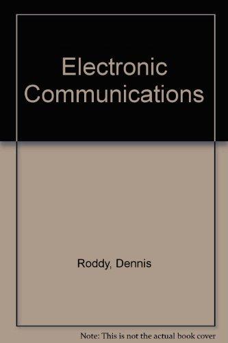 9780835916318: Electronic Communications