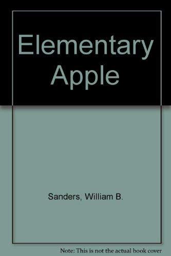 9780835916592: Elementary Apple