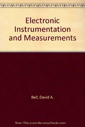 9780835916691: Electronic Instrumentation and Measurements