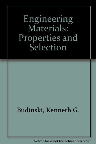 9780835916929: Engineering Materials: Properties and Selection