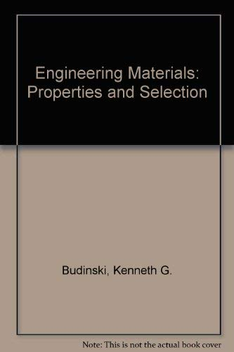 9780835916936: Engineering Materials: Properties and Selection
