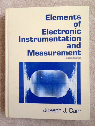 9780835917179: Elements of Electronic Instrumentation and Measurement