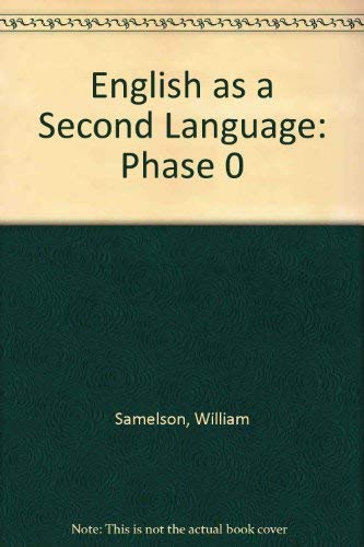 9780835917254: English as a Second Language: Phase 0