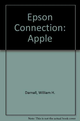9780835917506: Epson Connection: Apple