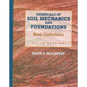 Foundations soil mechanics and pdf of essentials mccarthy