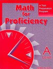 9780835918404: Math for Proficiency: A Test Preparation Program