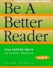 9780835919210: Be a Better Reader: Level B Annotated Teacher's Edition