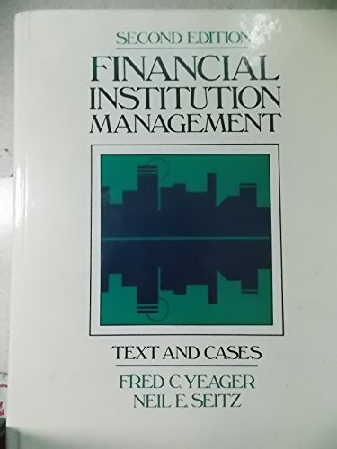 9780835920223: Financial Institution Management: Text and Cases