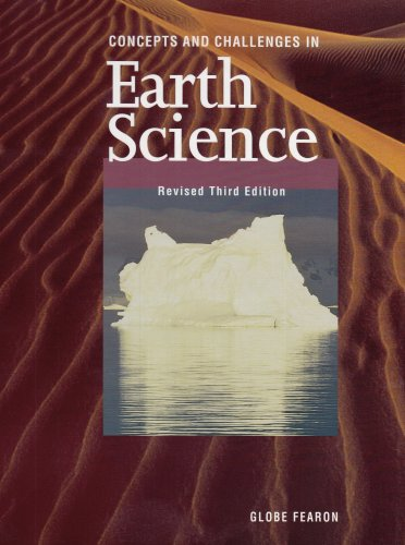 9780835922418: GF CONCEPTS AND CHALLENGES EARTH SCIENCE SE REVISED THIRD EDITION 1998C.