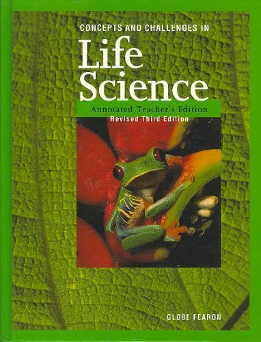 9780835922449: Concepts and Challenges In Life Science, Annotated Teacher's Edition