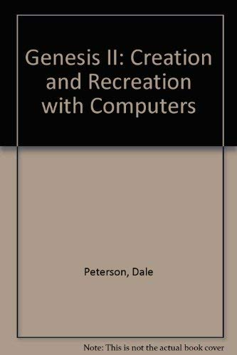 9780835924337: Genesis II: Creation and Recreation with Computers