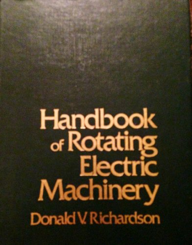 9780835927598: Handbook of Rotating Electric Machinery