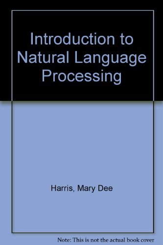 9780835932530: Introduction to Natural Language Processing