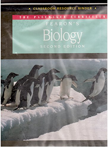 Fearon's Biology: Classroom Resource Binder (The Pacemaker: Bledsoe, Lucy Jane