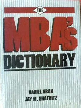 9780835941457: The Mba's Dictionary