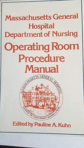 Massachusetts General Hospital Department of Nursing Operating: Massachusetts General Hospital