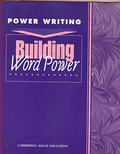 9780835946612: Building Word Power (Power Writing: Level 5-8)