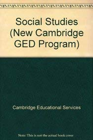 9780835947312: Social Studies (New Cambridge GED Program)