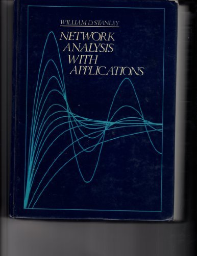 9780835948807: Network Analysis With Applications