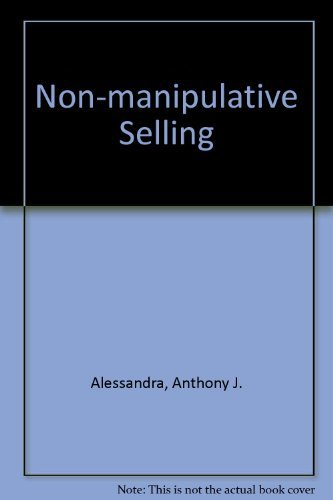 9780835949354: Non-manipulative Selling