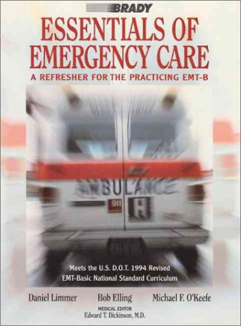 9780835949637: Essentials of Emergency Care: A Refresher for the Practicing Emt-B