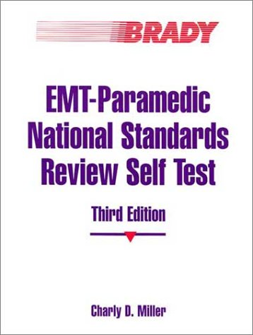 9780835951029: EMT Paramedic National Standards Review Self Test (3rd Edition)