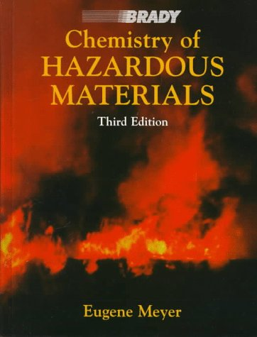 9780835951753: Chemistry of Hazardous Materials (3rd Edition)