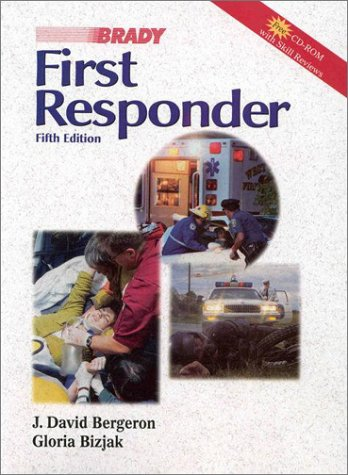 9780835951869: First Responder (5th Edition) (Book with CD-ROM )