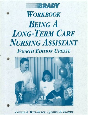 9780835952644: Being a Long-Term Care Nursing Assistant: Workbook