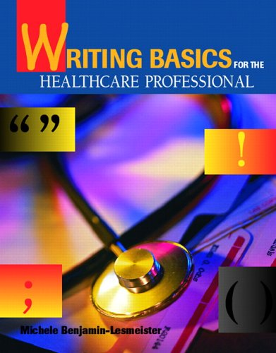 9780835953191: Writing Basics for the Healthcare Professional