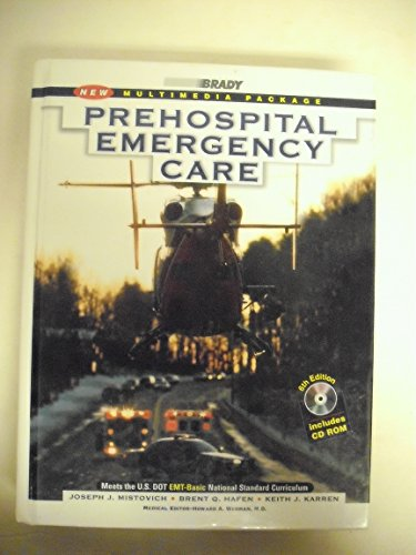 9780835953313: Prehospital Emergency Care, 6th Edition (Book with CD-ROM)