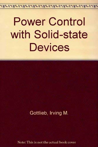 9780835955843: Power control with solid state devices