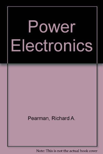 9780835955850: Power Electronics: Solid State Motor Control