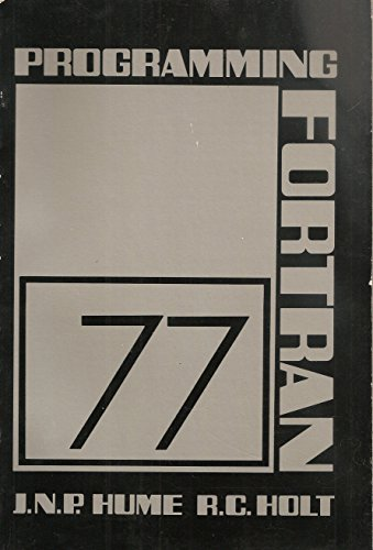 9780835956710: Programming Fortran 77: A Structured Approach