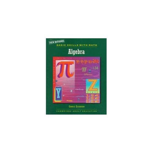 9780835957359: NEW BASIC SKILLS WITH MATH ALGEBRA C99 (Cambridge Adult Education)