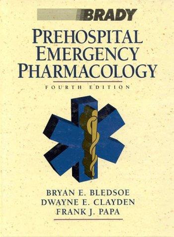 9780835960656: Prehospital Emergency Pharmacology