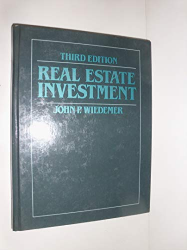 9780835964968: Real Estate Investment