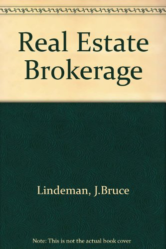 9780835965170: Real Estate Brokerage